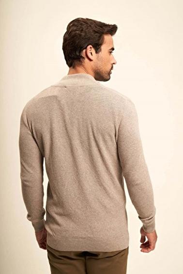 Silk and Cashmere Ceket Vizon